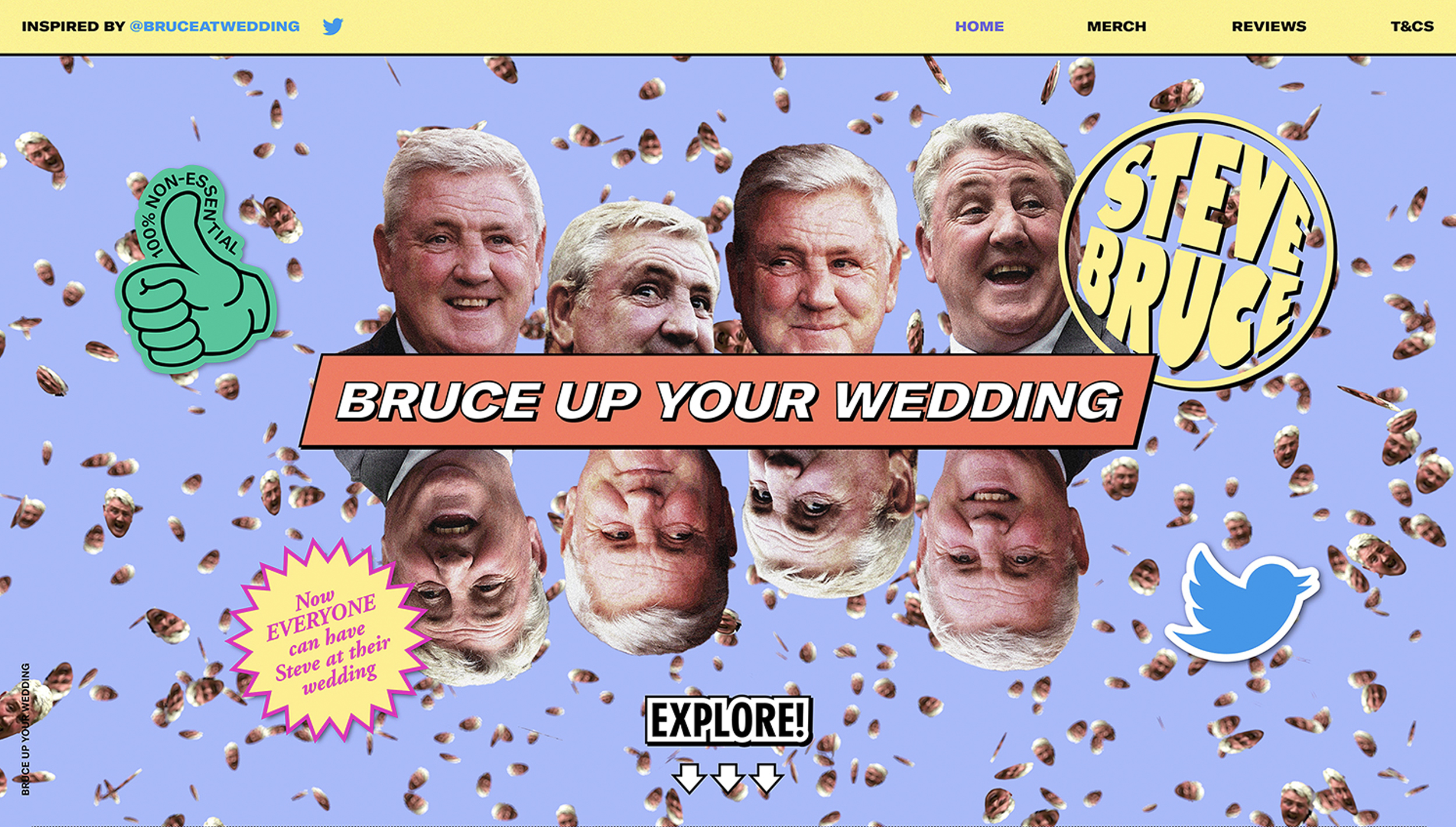 Bruce Up Your Wedding →